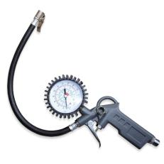 Pistole na huštění pneu s manometrem - plastové madlo