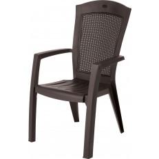 Zahradní jídelní židle KETER Minnesota - Brown