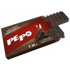 Dřevěný podpalovač 2v1 PE-PO