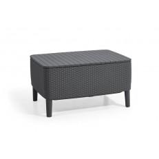Stůl / úložný box KETER Salemo - graphite