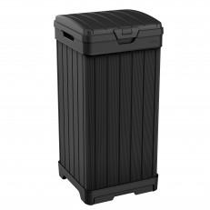 Zahradní odpadkový koš KETER Baltimore 125 L - Black