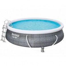 Bazén Fast Set Rattan 4,57 x 1,07 m - 57372