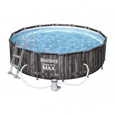 Bazén Steel Pro Max Wood 4,27 x 1,07 m - 5614Z