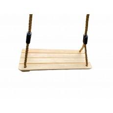 Dřevěná houpačka - obdélníková GR0124