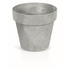 Květináč CUBE BETON EFFECT 40 cm - šedý