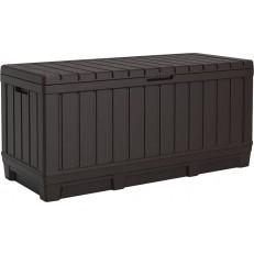Zahradní úložný box KETER Kentwood 350 l - hnědý