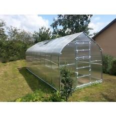 GARDENTEC Standard - 2 x 2,5 m zahradní skleník z polykarbonátu