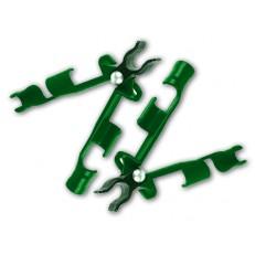 Štítová spojka pro tyčky k rostlinám 11mm - 3ks