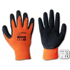 Ochranné pracovní rukavice Bradas POWER latex - vel. 9