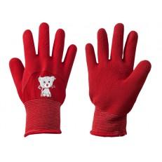 Dětské latexové ochranné rukavice Bradas KITTY, vel. 4