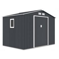 Zahradní domek na nářadí HUDSON 9x6 - Cold Grey
