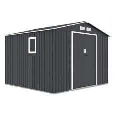 Zahradní domek na nářadí HUDSON 9x8 - Cold Grey