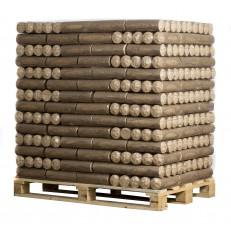 Dřevěné brikety ECO-PAL - ECOMAX paleta 756kg
