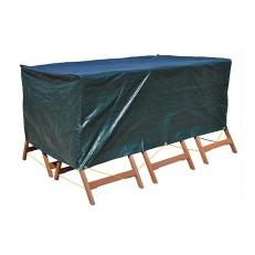 Krycí plachta na zahradní nábytek 200 x 140 x 80 cm