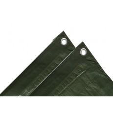 Krycí plachta 5x6 m - 120 gramů / zelená