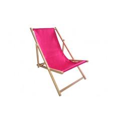 Zahradní lehátko Klasik - Pink