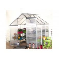 Zahradní polykarbonátový skleník 190x190cm