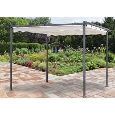 Zahradní altán 3x3m Master Grill se shrnovací střechou