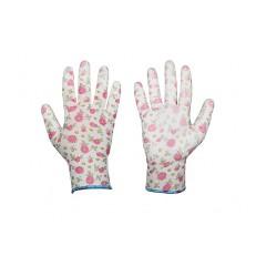 Dámské pracovní rukavice Bradas Pure Pretty - vel. 7