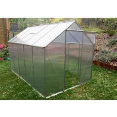 Zahradní polykarbonátový skleník 310x190 cm VespaGarden - Rozbaleno