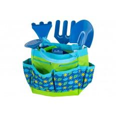 Sada dětského nářadí s konvičkou BLUE GR0139