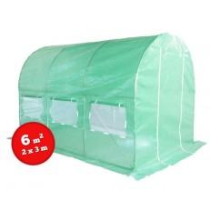 Zahradní fóliovník zelený 2x3m