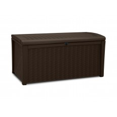 Keter Borneo Brown - zahradní úložný box 416 L