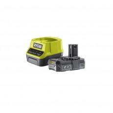 Ryobi RC18120-120 sada 18 V lithium iontová baterie 2 Ah s nabíječkou RC18120 ONE+