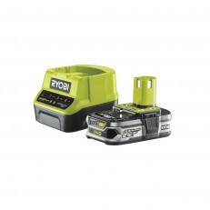 Ryobi RC18120-125 sada 18 V lithium iontová baterie 2,5 Ah s nabíječkou RC18120 ONE+