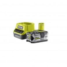 Ryobi RC18120-150 sada 18 V lithium iontová baterie 5 Ah s nabíječkou RC18120 ONE+
