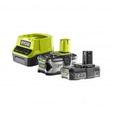 Ryobi RC18120-242 sada 18 V lithium iontová baterie 2 + 4 Ah s nabíječkou RC18120 ONE+