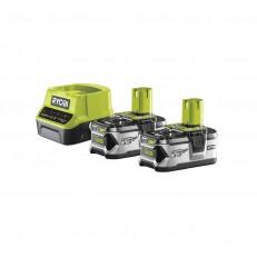 Ryobi RC18120-240 sada 2x 18 V lithium iontová baterie 4 Ah s nabíječkou RC18120 ONE+