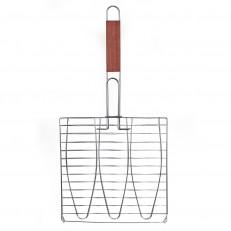 Activa Trojitý grilovací rošt na ryby 52 cm