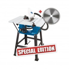 Scheppach HS 81 S Special Edition stolová pila + 2. kotouč zdarma