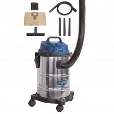 Scheppach ASP 15 ES průmyslový vysavač na suché / mokré vysávání 15 l