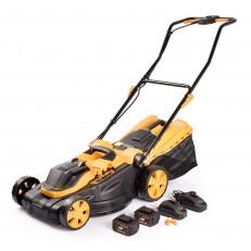 Riwall PRO RALM 3820 set akumulátorová travní sekačka + 2x 4Ah baterie + 2x nabíječka 20 V