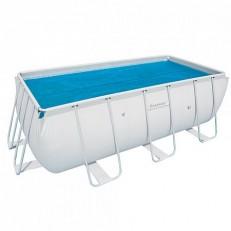 58240C solární plachta 3,80 x 1,80 m na bazén 4,04 x 2,01 x 1 m